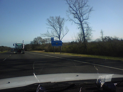 Entering Oklahoma