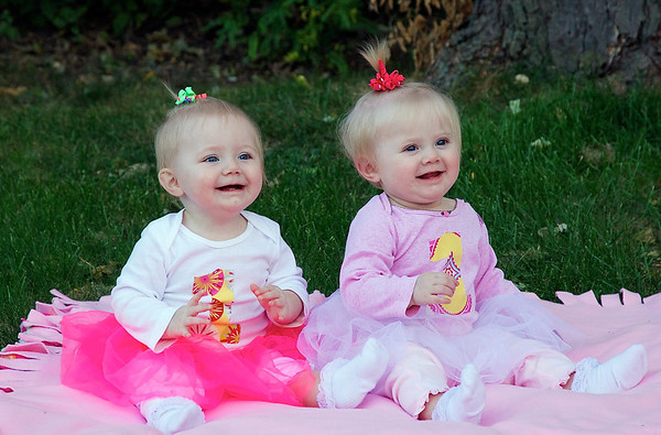 Elise and Annika's 1st Birthday - October 2, 2013