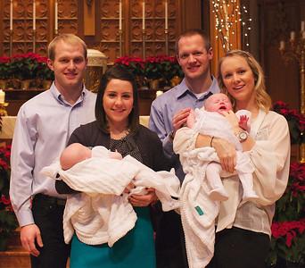 Elise and Annika's Baptism