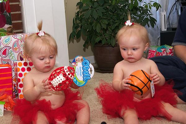 Elise and Annika's First Birthday Celebration