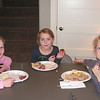 The three older girls-Elise, Sage and Kyla