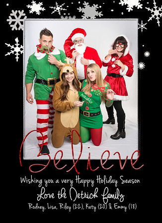 Happy Holiday Foil - A2 5x7 - Detrick