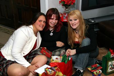Tara, Andrea, and Amanda.