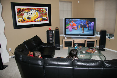 """""""Finding Nemo"""" is always a hit with the kids."""