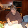Velma prepping broccolli
