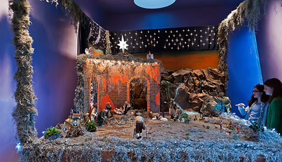 Nativity inside one of the Chapels