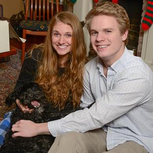 Christmas 2013 Teydin & Parker