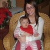Audra Wimmer and Brianna Cunningham. Pennsylvania, Christmas 2008.