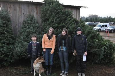 Christmass Tree Hunting - 2011