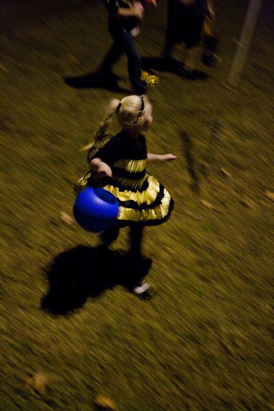Taken by Jenn, while Tim filmed - Halloween 2010