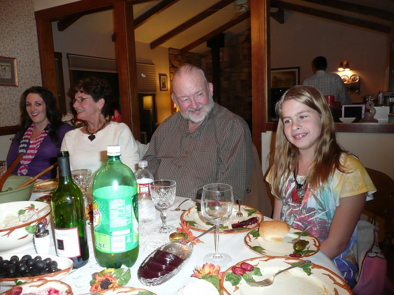 Grandma, grandpa, and little Nikki.