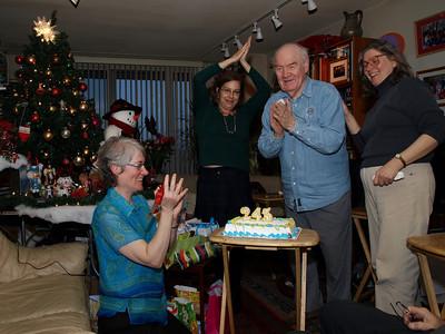 Four birthdays in one celebration
