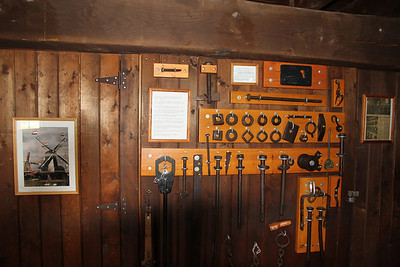 Some of the tools used in the grist windmill