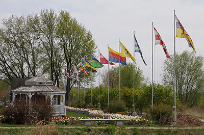 All Dutch provincial flags on display