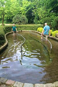Kneippsches Wassertreten