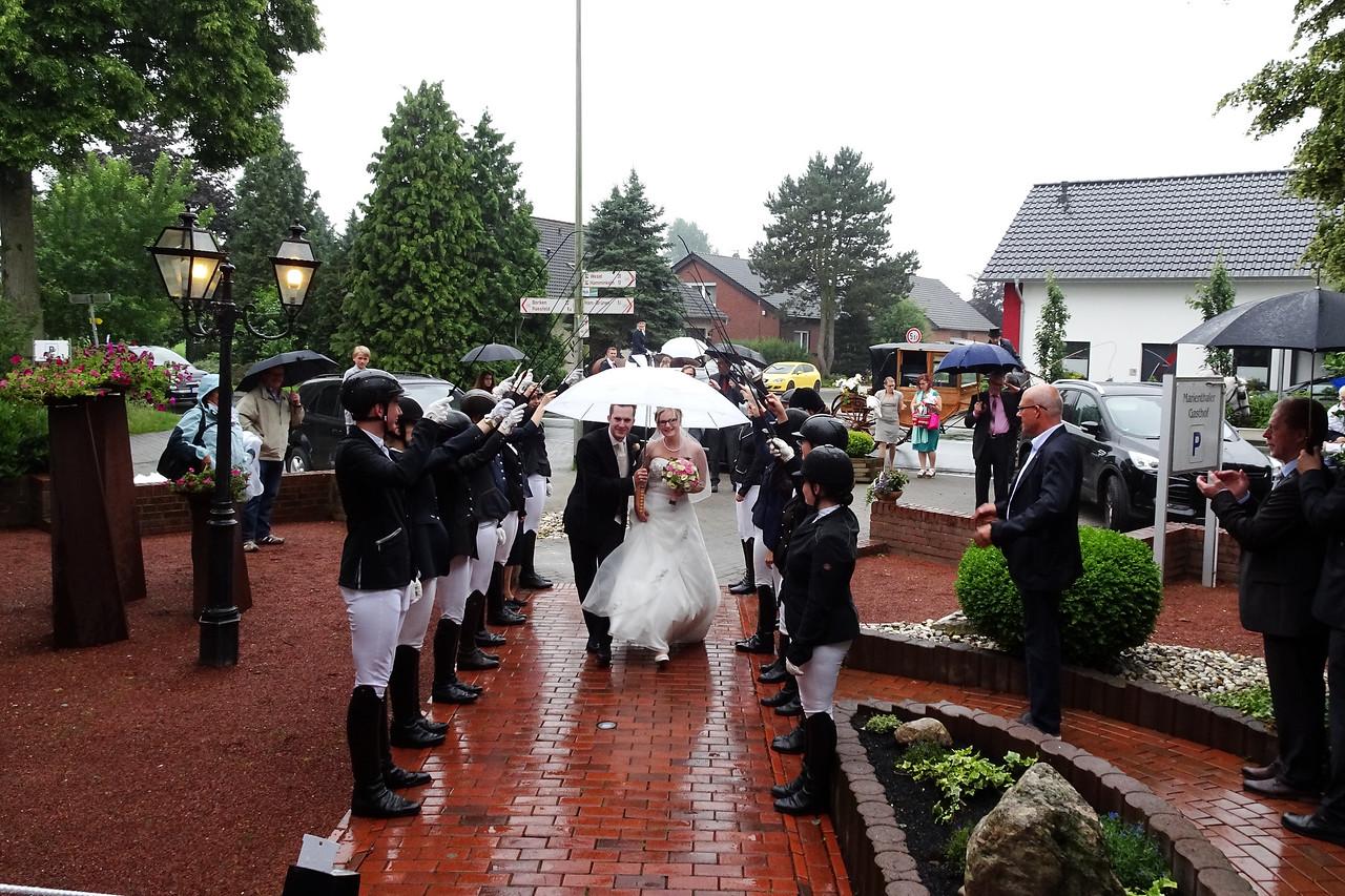 Tanja + Garrelf Hochzeit