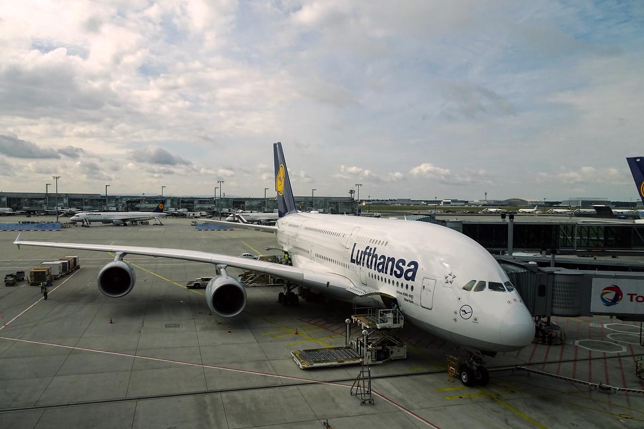 LH A380 FRA-SFO