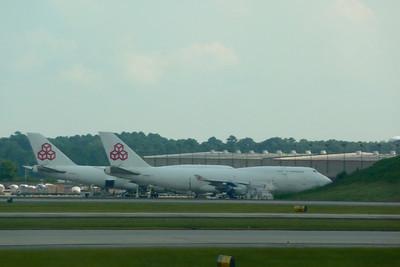 Cargolux B747-400BCFs, ATL