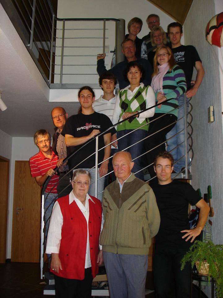 Familienfoto bei Renate