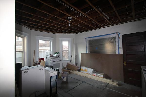 Gutting Allston House- Nov 08 to Jan 09