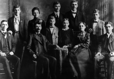 Finley D Hornbaker family