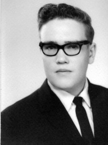 Franklin Dean Hornbaker graduation photo, circa 1966