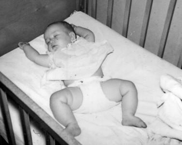 Rebecca (Becky) Hornbaker, age 4 months, 1962