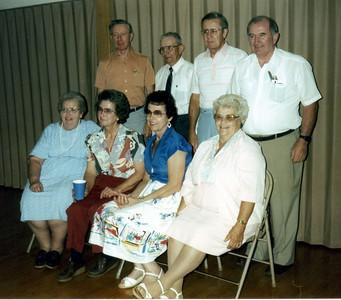 Spouses of Vernon W Hornbaker's children - 1987