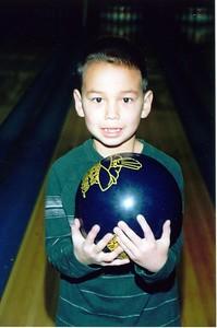 Jon Hornbaker bowling