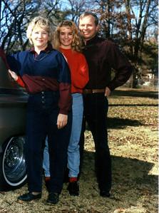 Del, Marcia, and Gayle Allen, 1992