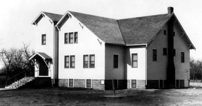 Second building - Pleasant View Church of the Brethren at Darlow, KS