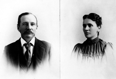 Charles and Martha Rundell, parents of Laura and Clarence
