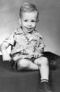 Larry Hornbaker, circa 1956