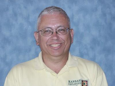 Larry Hornbaker, church directory photo, 2003