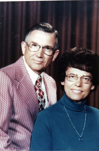 Gerald and Helen Hornbaker, 1975, 25th Anniversary