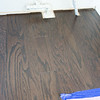 Hardwood grain under range