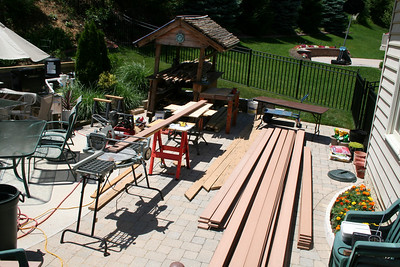 Deck TimberTech New Surface Project