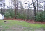 Pano of the backyard area.  What you are able to see is about 1/2 acre.  The lot goes way back to the far right and back for 3.3 acres.