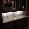 Cabinets and counter space galour.
