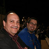 Uncle Ricky and me at a high school football game.  High school football is big in Texas.