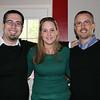 Me, our cousin Jennifer, and Bob.
