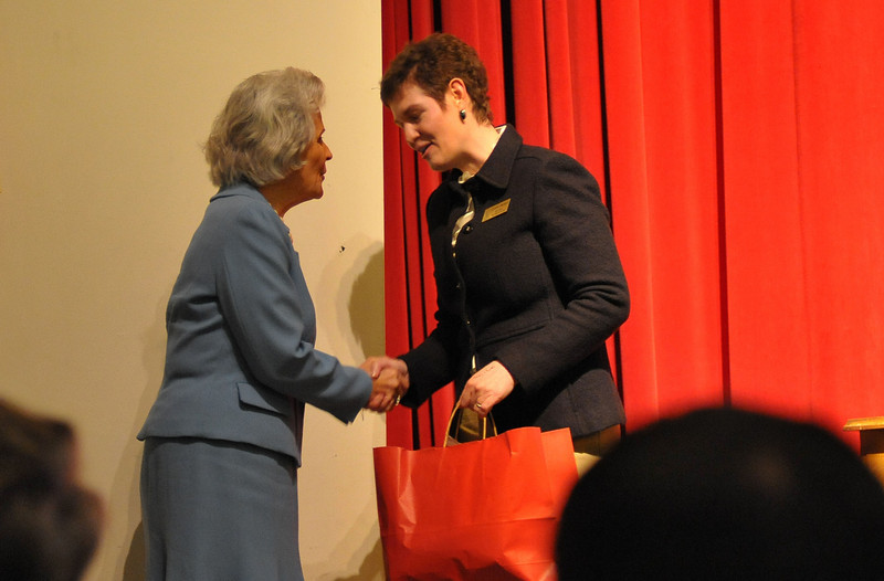 Georgia Women of Achievement March 10th 2011 - Twentieth Annual Induction Ceremony at Wesleyan College, Macon, Georgia - Lillian Gordy Carter, Mary Francis Hill Coley, May DuBignon Stiles Howard