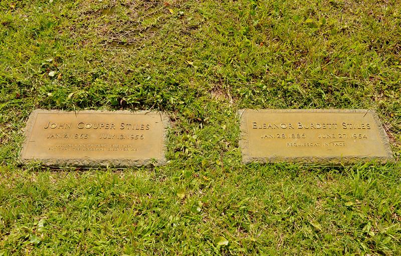 John Couper Stiles and Eleanor Burdett Stiles