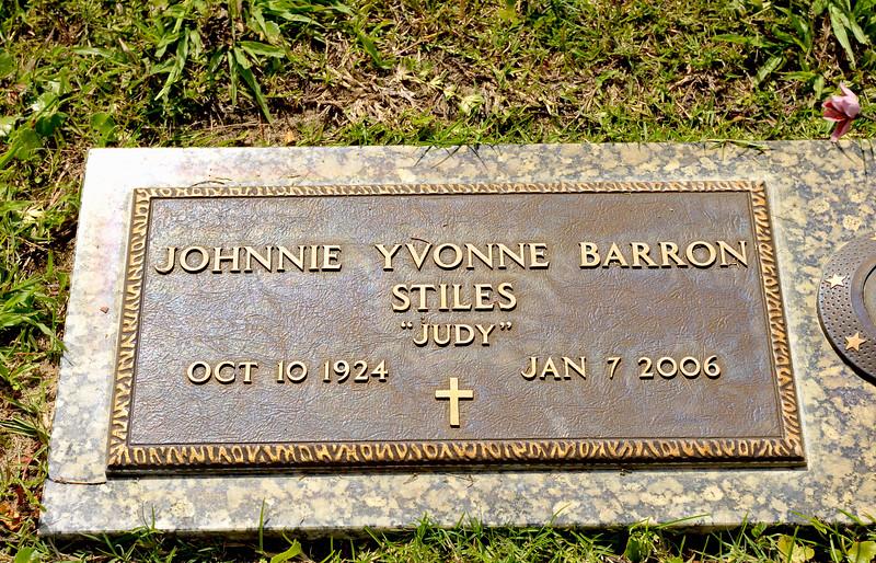 """Johnnie Yvonne """"Judy"""" Barron Stiles"""