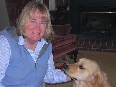 Susan and GRACIE, May 9, 2004