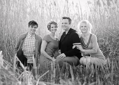 Hubler Family 03bw
