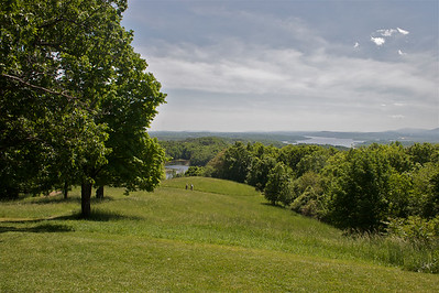 The Hudson River Valley, looking south from Olana