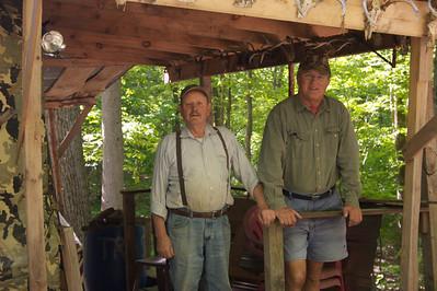 Bob and Ingemar at Camp Anthony