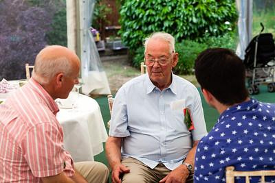 George, Hugh, Steven
