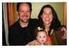 John and Liz Barnhardt, 2008, with baby Evan.